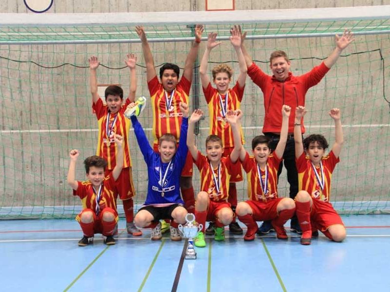 Junioren Db: D-Junioren mit Turniersieg in Lenzburg